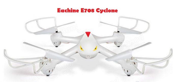 Eachine E708 Cyclone drone