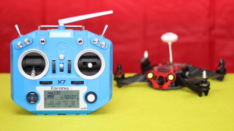 FrSky Taranis Q X7 transmitter review | First Quadcopter