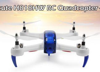 Helicute H818HW drone