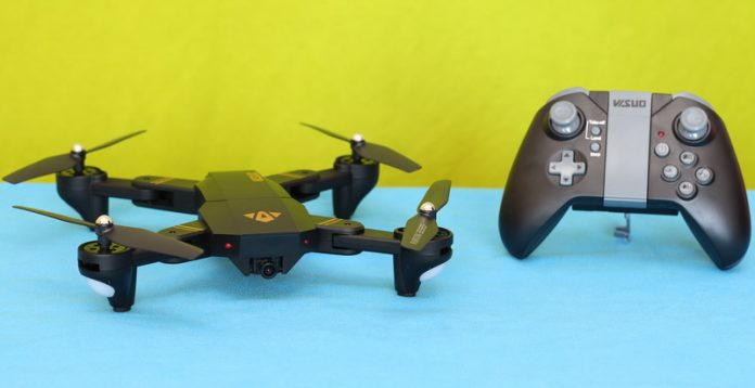 VISUO XS809HW drone review
