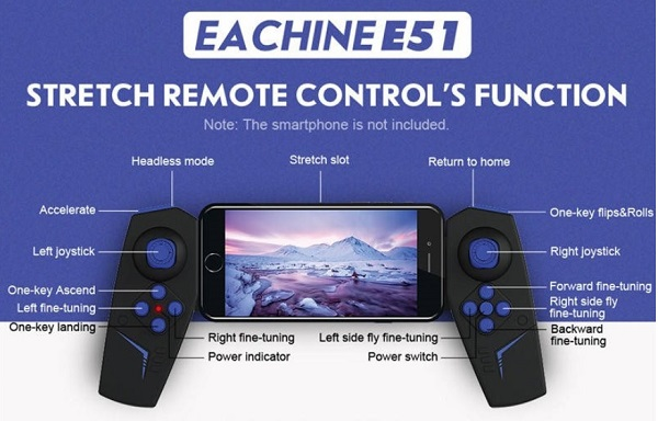 Eachine E51 transmitter