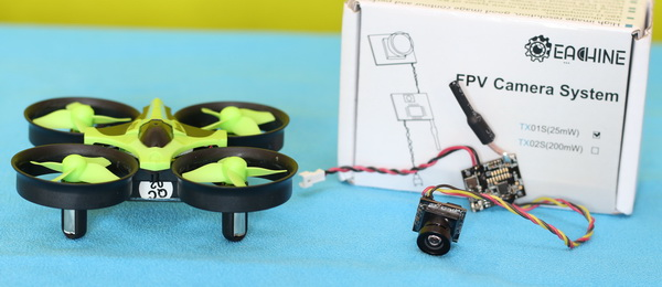 Eachine TX01S review - Summary