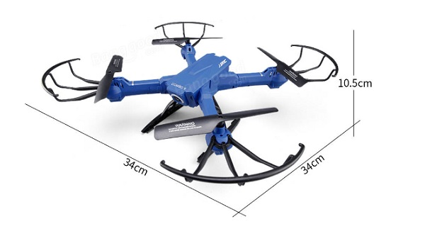 JJRC H38WH drone dimensions