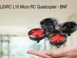 LiDiRC L10 Whoopee drone