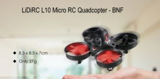 LiDiRC L10 Whoopee drone