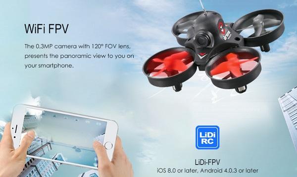 LiDiRC L10 quadcopter wifi fpv
