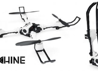 Eachine E53 quadcopter