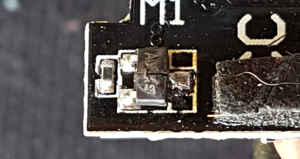 Exploded FET on QX110 FC