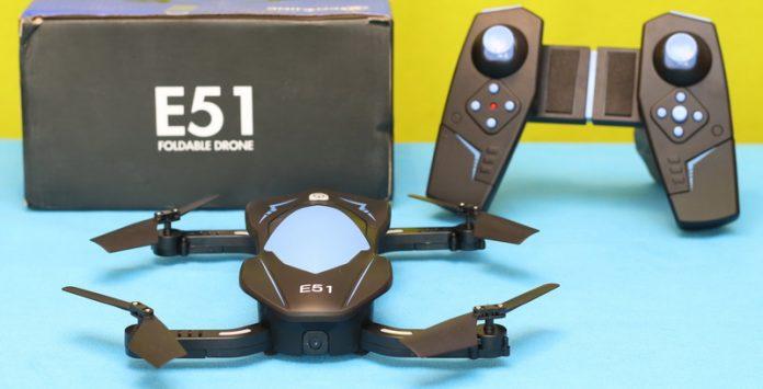 Eachine E51 quadcopter review