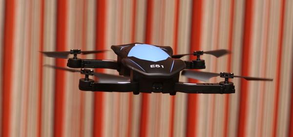 Eachine E51 drone review - Test flight