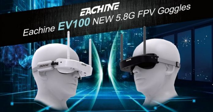 Eachine EV100 FPV glasses
