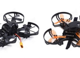 GOFLY-RC Falcon CP90 FPV quadcopter