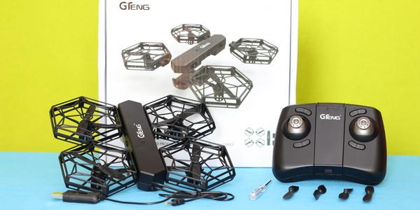 GTENG T908W drone review - Verdict
