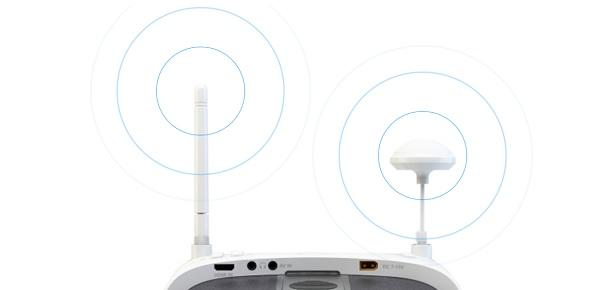 SKYRC HD FPV goggles antennas