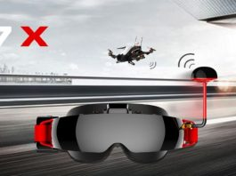 TOPSKY F7X FPV glasses