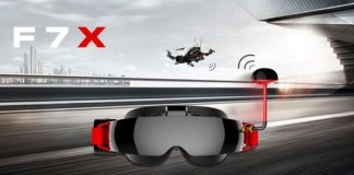 TOPSKY F7X FPV glasses