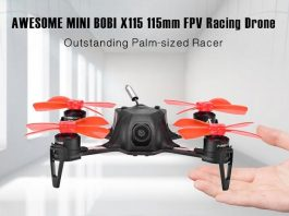 AWESOME MINI BOBI X115 quadcopter