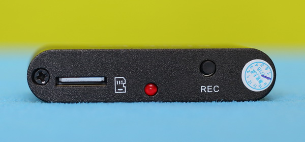 Black Box D1M FPV DVR review - Front panel