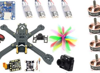 Fighter 220 DIY quadcopter
