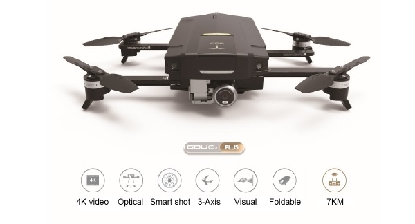 GDU O2 Plus drone features