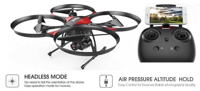 DROCON U818PLUS quadcopter