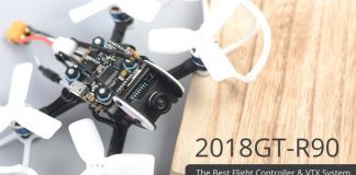 Diatone 2018 GT-R90 mini FPV quadcopter
