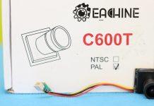 Eachine C600T mini camera review
