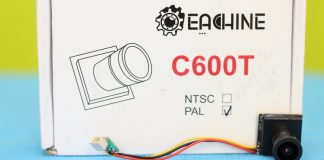 Eachine C600T mini camera review
