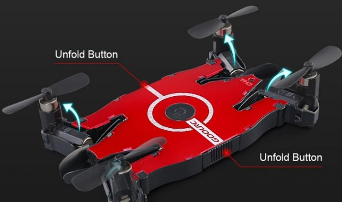 GoolRC T49 low profile drone