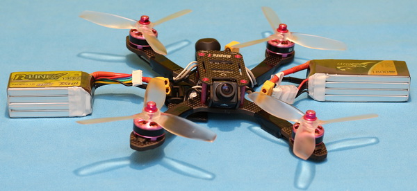 Holybro Kopis 1 drone review: Flight preparation. Finding proper battey