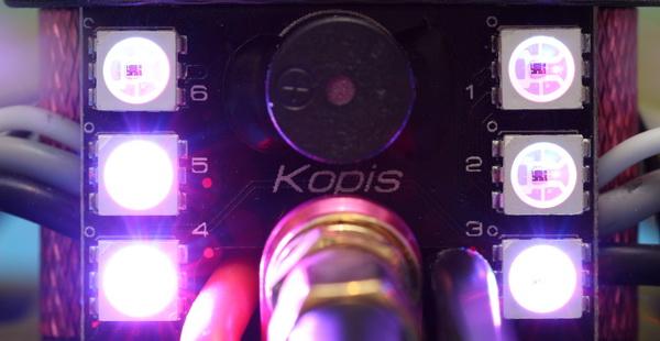 Holybro Kopis 1 drone review: Status LEDs