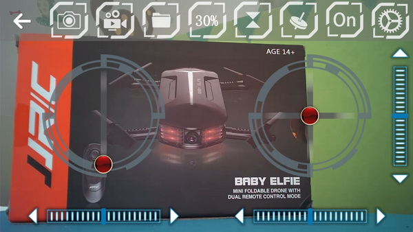 JJRC Mini Baby Elfie review: APP control