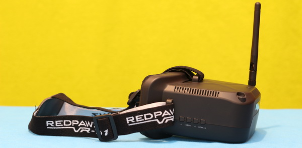 RedPawz R011 drone review - RedPawz VR D1 FPV goggle