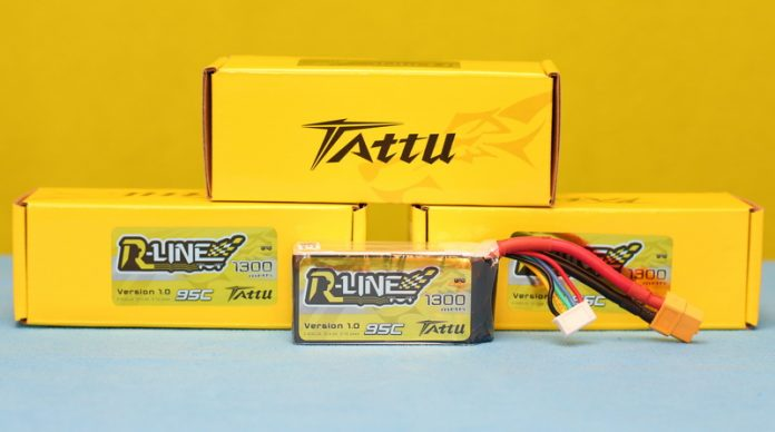 Tattu R-Line 4s 1300mAh Li-Po battery review