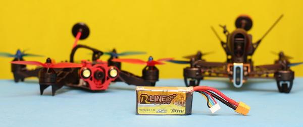Tattu R-Line review - Advantage of LiPo batteries
