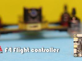 F4 flight controller review