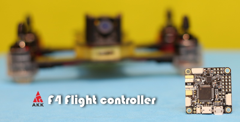 F4 flight controller review: First piece of your DIY drone