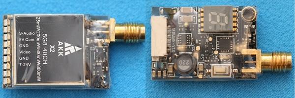 AKK X2 review: design. Main components