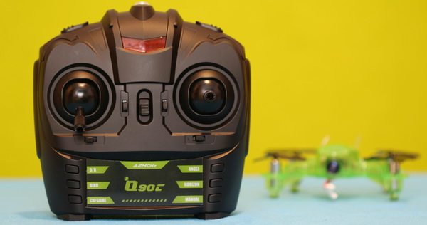 Eachine Q90C FlyingFrog review: Remote controller