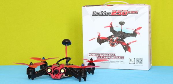 Eachine Racer 250 Pro drone with 40% off during 11.11