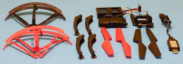 FEILUN FX176C2 drone review: Accessories