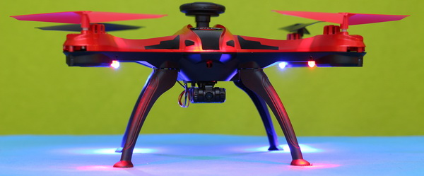 FEILUN FX176C2 drone review: Lights