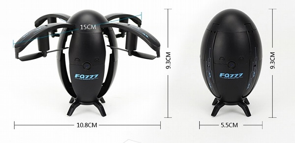 FQ777 FQ28 drone size