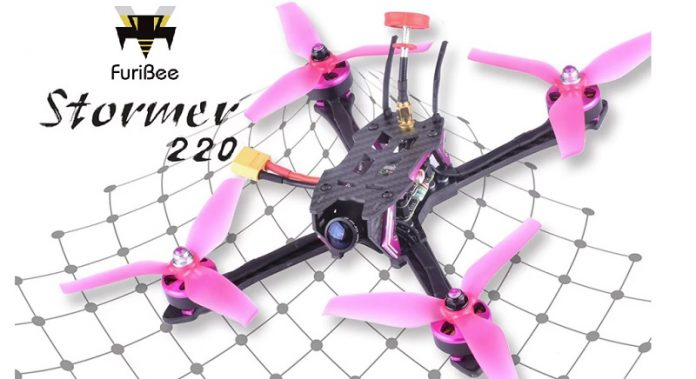 FuriBee Stormer 220mm fpv drone