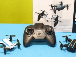 JJRC H345 drone review: JJI and JJII
