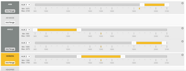 KingKong ET125 drone review: Betaflight settings