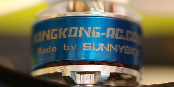 KingKong ET125 drone review: Motor