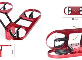 TYRC TY6 pliable selfie drone
