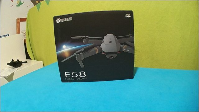 Best Starter Drone: Eachine E58 sample photo (original)