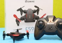 Eachine E59 Min quadcopter review